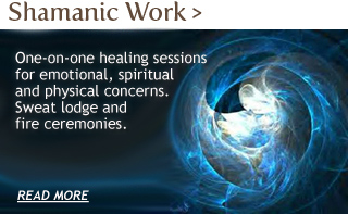 Find out more about Shamanic Healing